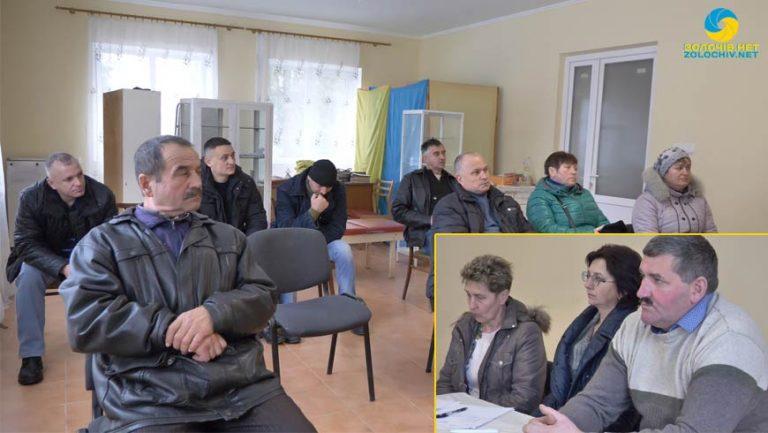 На сесії Новосілківської сільської ради про землю для учасників АТО