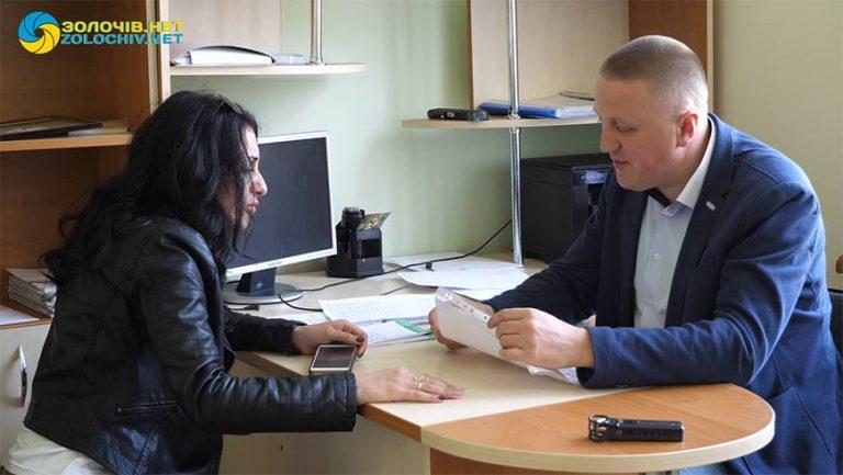 У Золочеві відбувся прийом громадян депутатом Золочівської райради Василем Ляшовським