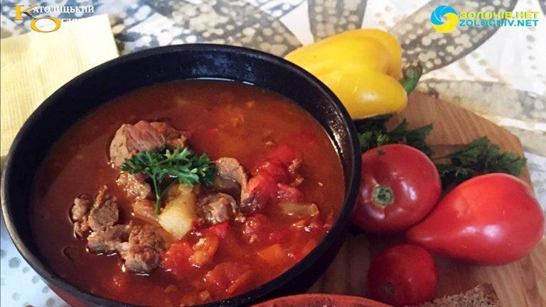 Суботня кухня: готуємо бограч