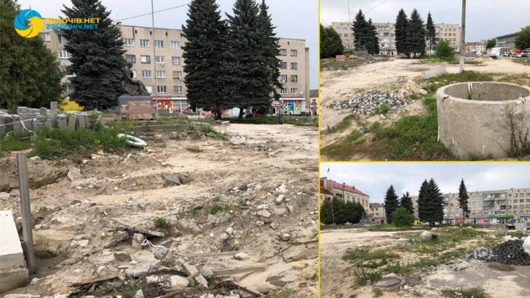 За лобіюванням Тараса Батенка виділено ще півмільйона гривень на реконструкцію площі Вічевої у Золочеві