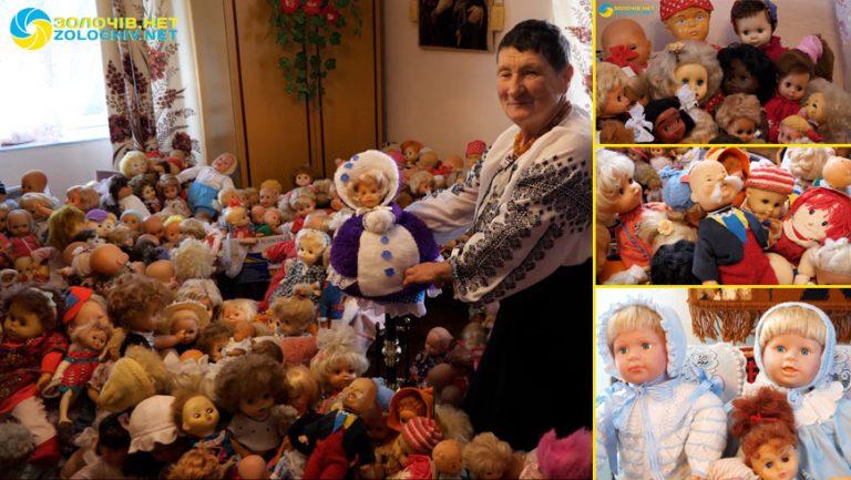 Життєві історії: унікальна та велика колекція ляльок Гуляк Ольги Семенівни