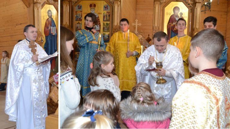 Відбулись передріздвяні науки в парафії Блаженного Миколая Чарнецького