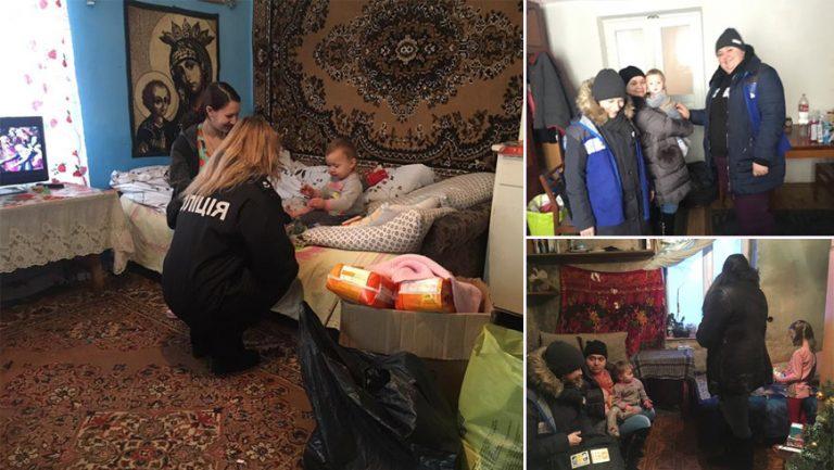 На Золочівщині поліцейські із соцпрацівниками відвідали родини, які опинилися у складних життєвих обставинах