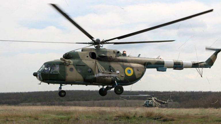 На Рівненщині розбився гелікоптер ЗСУ. Екіпаж загинув.