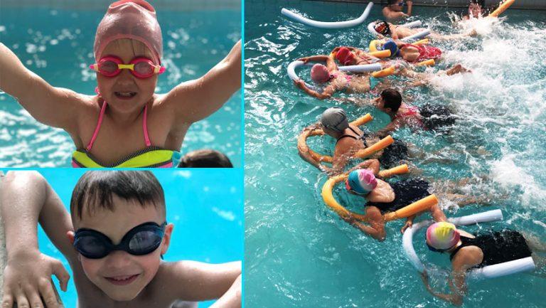 """Басейн у """"Струтин Комплексі"""" запрошує дітей з користю провести канікули (відео)"""