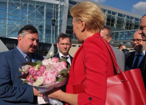 дружина Президента Польщі