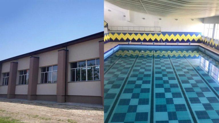 У Буську після реконструкції відкриють плавальний басейн