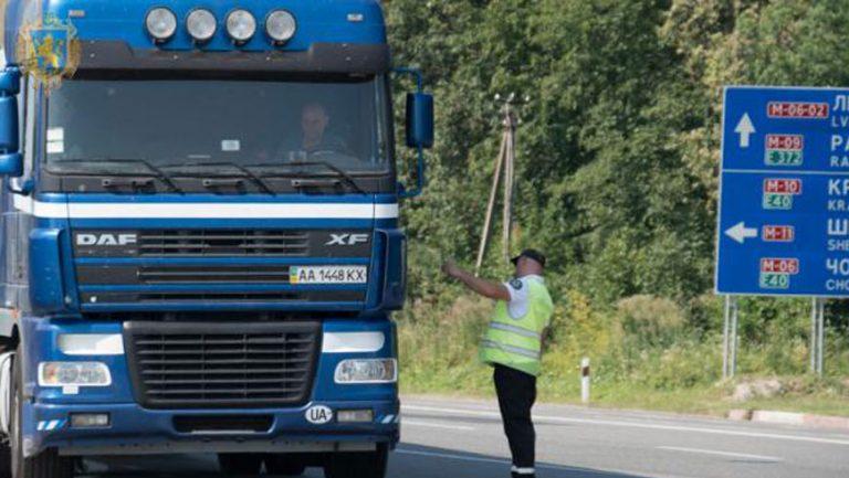 Підвищення температурного режиму: водіям вантажівок нагадують про обмеження
