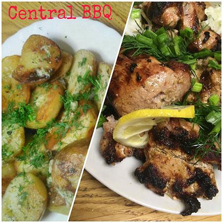 Central BarBecue: при замовленні порції шашлика, порція печеної картоплі – в подарунок