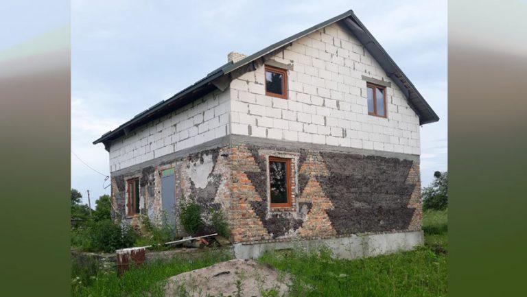 Продається незавершене будівництво у Золочівському районі