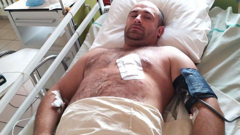 На Львівщині під час затримання небезпечних злочинців поранений поліцейський