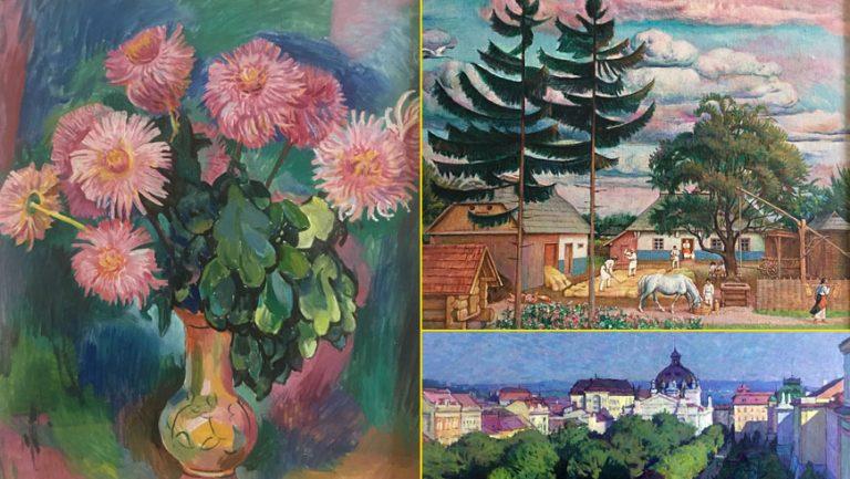 В Золочівському замку відбудеться виставка художника Петра Григорійчука