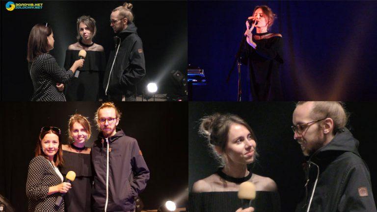 """Гурт """"Один в Каное"""" вперше дав концерт у Золочеві (відео)"""