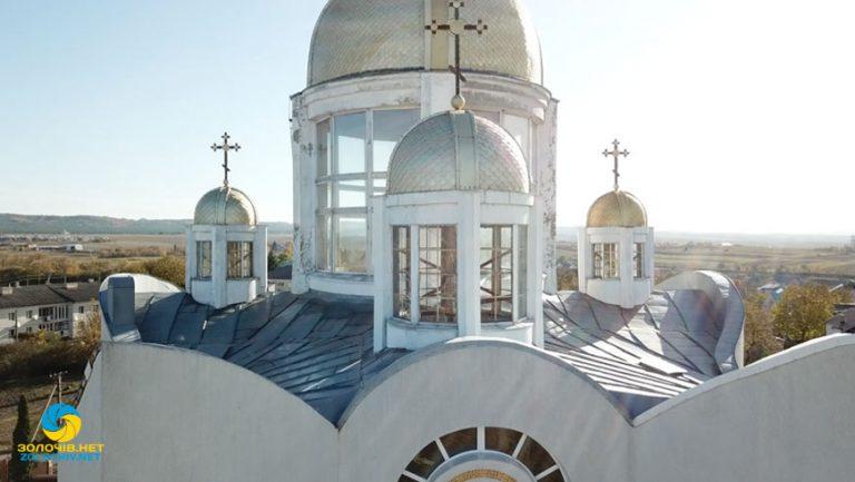 Наживо: Літургія у храмі Св. Софії м. Золочів (відео)