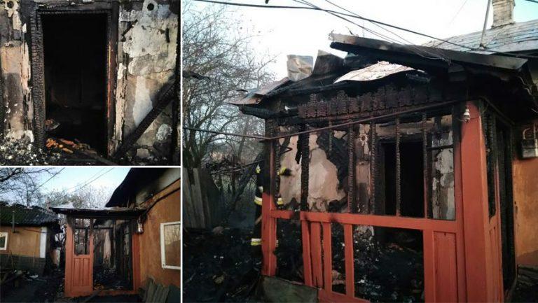 У Буському районі через  пожежу в будинку ледь не загинув власник