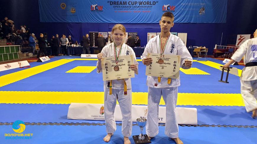Золочівські спортсмени здобули третє місце на Кубку світу з кіокушинкай карате