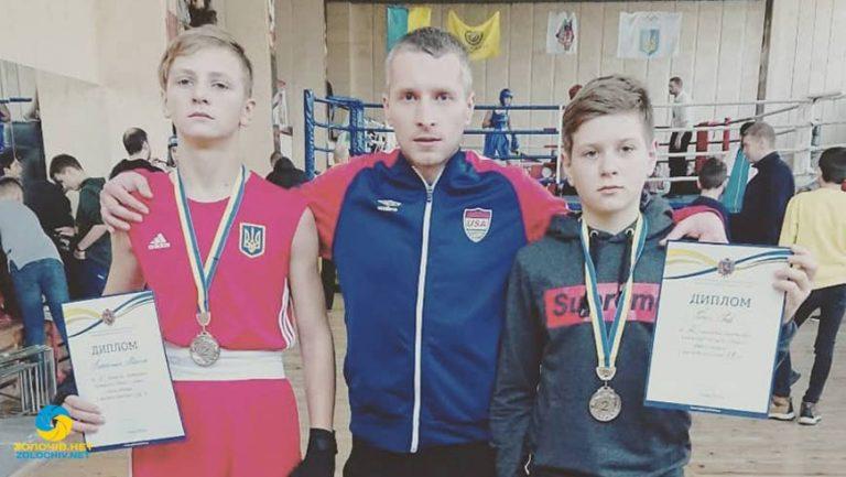 Золочівські боксери стали срібними призерами на Чемпіонаті області