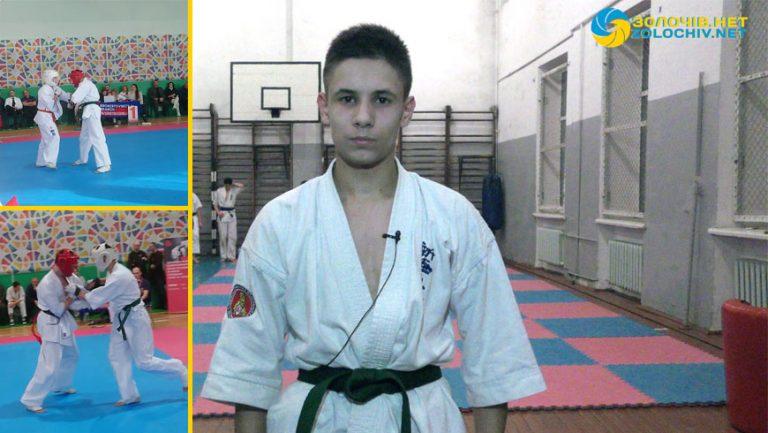 Золочів'янин став Чемпіоном України з кіокушинкай карате (відео)