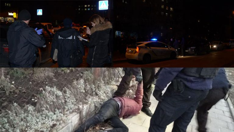 У Львові поліцейські затримали зловмисників, які зі стріляниною викрали чоловіка