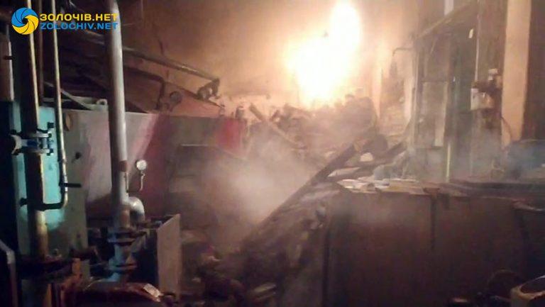Стався вибух у котельні на території Золочівської центральної районної лікарні (відео)