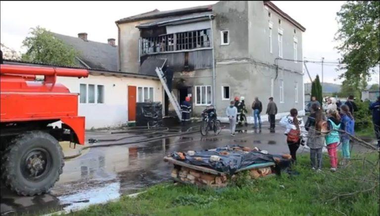 На Львівщині горіла школа