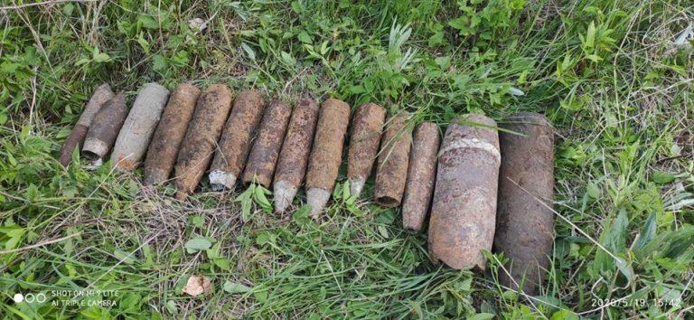 На Золочівщині за добу піротехніки ДСНС вилучили та знищили 17 боєприпасів часів ІІ Світової війни