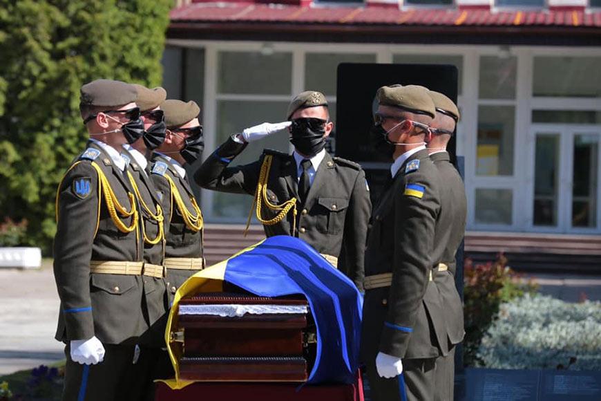 Львівщина попрощалась із 18-річним захисником Сергієм Тимощуком