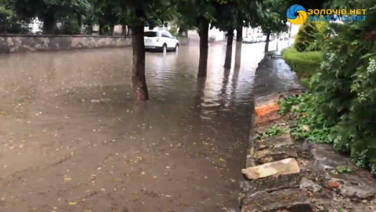 Наживо: потопи по-золочівськи (відео)