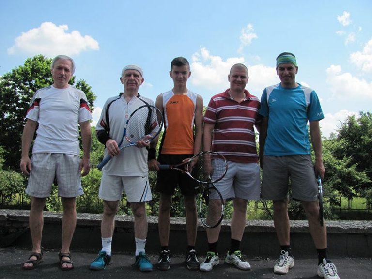 Тенісний турнір MASTERS –JUNE 2020 на Золочівщині