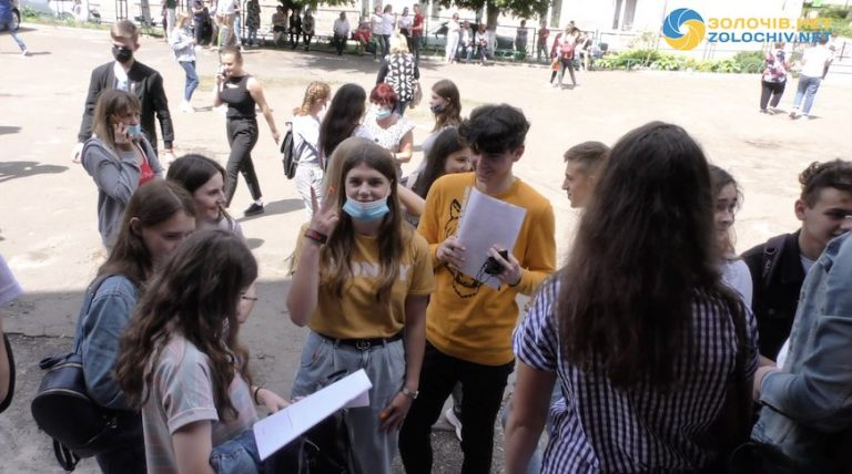У Золочеві школярі складали ЗНО з математики (відео)
