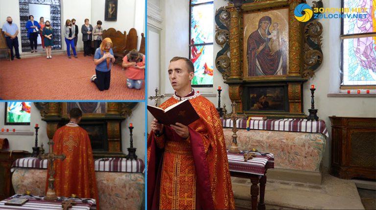 У Золочівському замку вшанували молитвою пам'ять закатованих (відео)