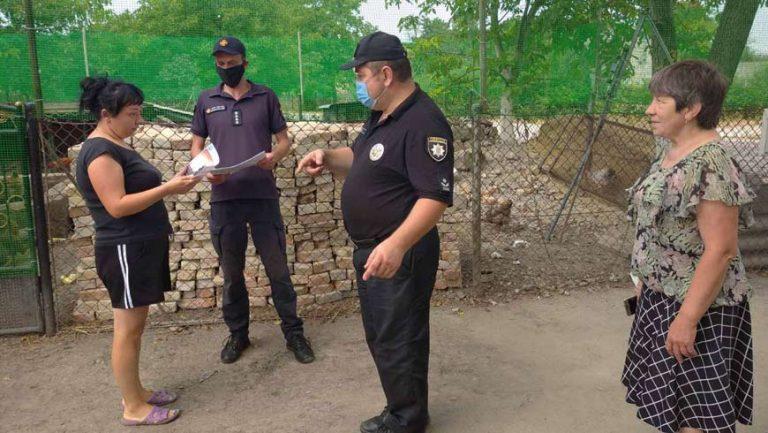 На території Ясеновецької сільської ради проведено роз'яснювальну роботу з метою попередження виникнення пожеж