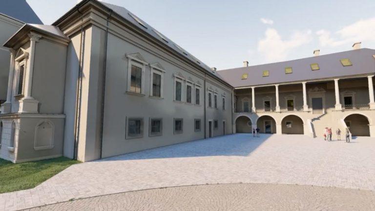 Показали проект реконструкції території Поморянського замку (відео)