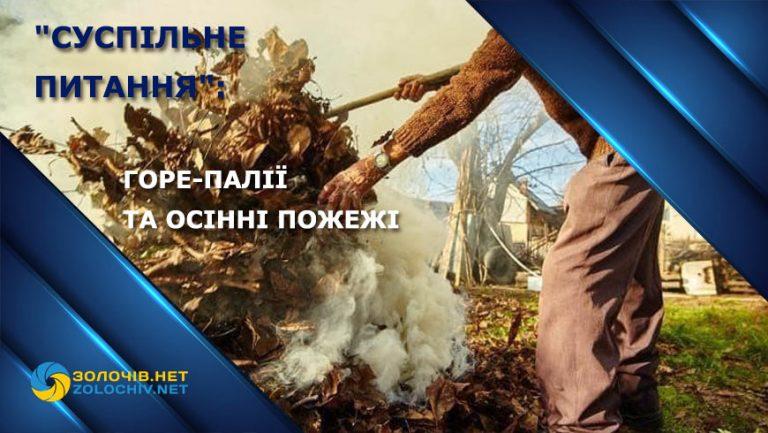 """Наживо """"Суспільне  питання"""": горе-палії  та осінні пожежі (відео)"""