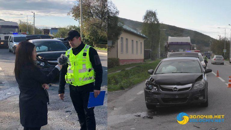 ДТП на Золочівщині: травмовано двоє дітей (відео)
