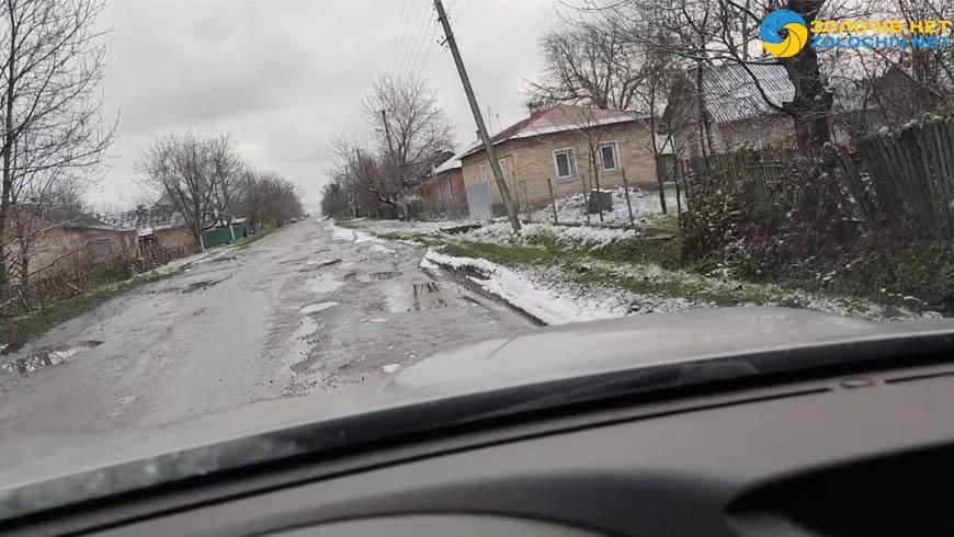 Ділянки дороги за напрямком Красне — Велика Вільшаниця