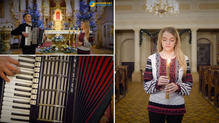 Сумний святий вечір | Зоряна Ковалишин та Олег Щербачук (відео)