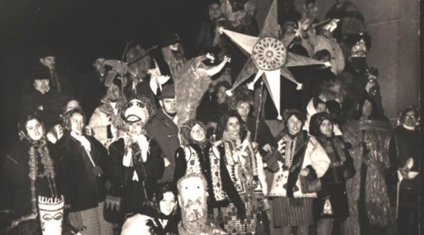 Різдвяний вертеп у Львові 1972 року