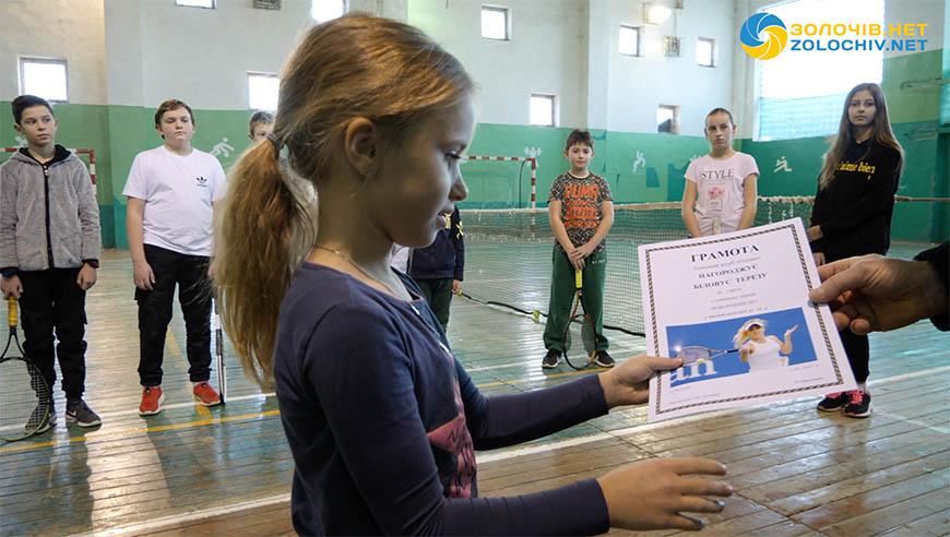 У Золочеві змагалися тенісисти