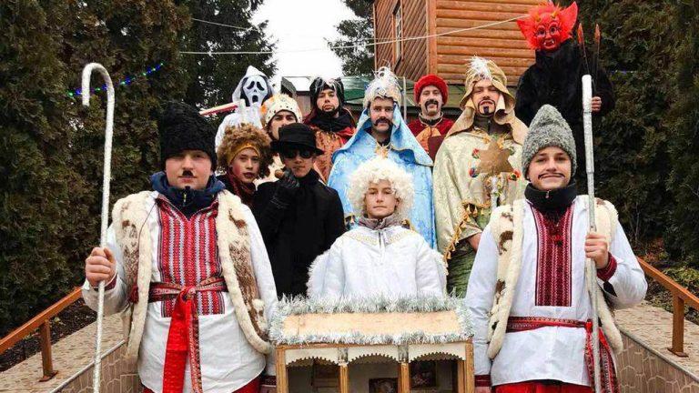 Вертеп села Кругів (відео)