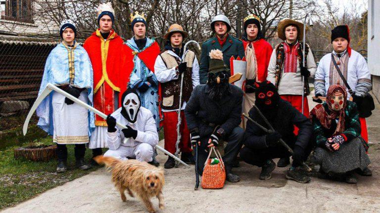 Вертеп села Вороняки (відео)