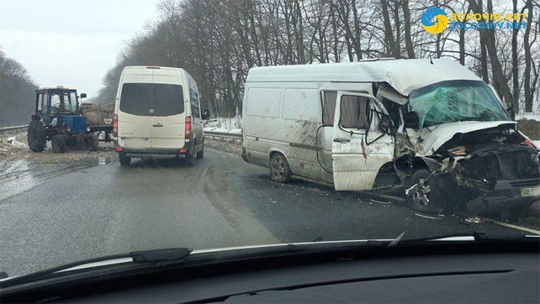 Сталася ДТП на автодорозі Тернопіль-Львів (відео)