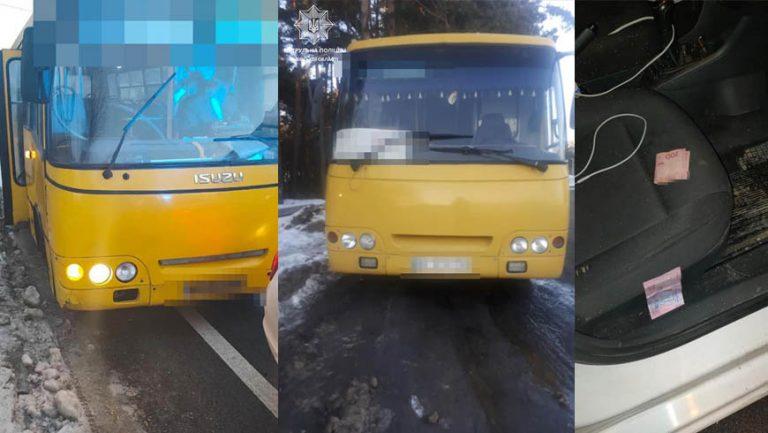 За добу два водії автобусів пропонували патрульним неправомірну вигоду