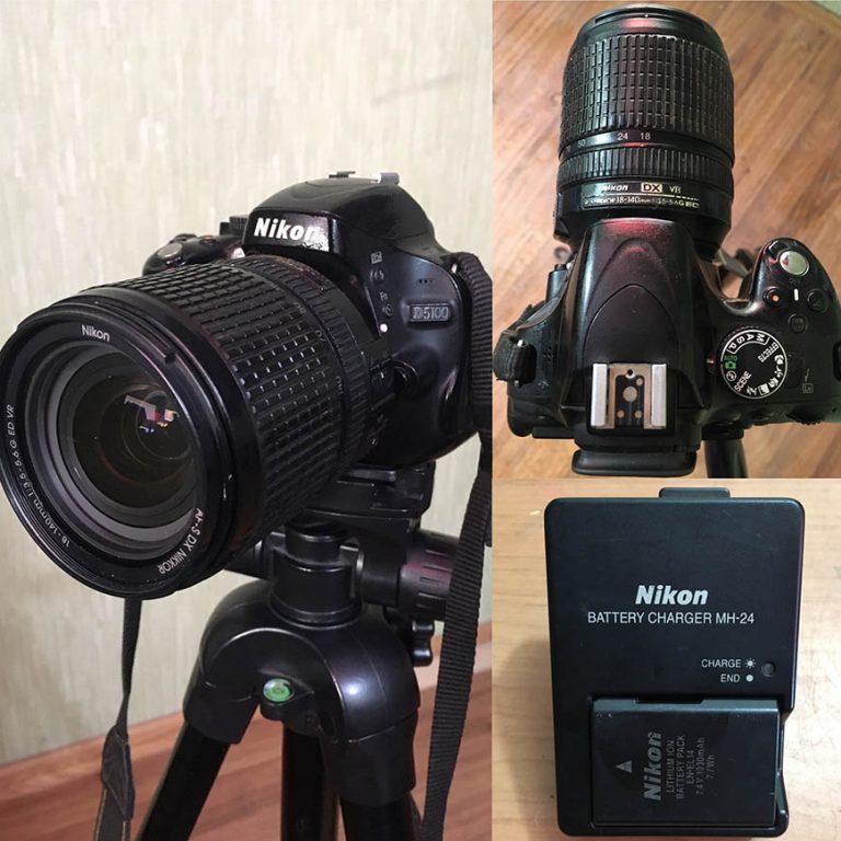 Продам фотоапарат Nikon D5100 з об'єктивом