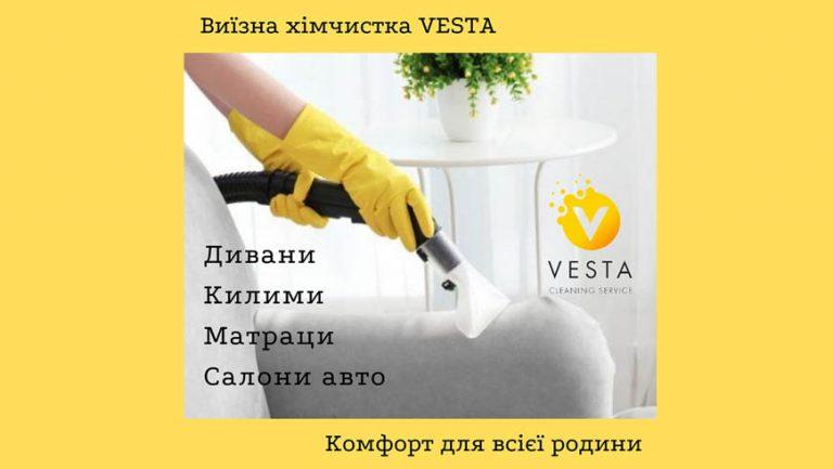 Виїзна хімчистка Vesta