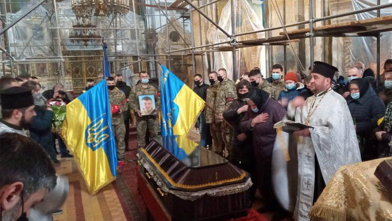 У Луцьку попрощалися із бійцем окремої гірсько-штурмової бригади Сергієм Сулимою