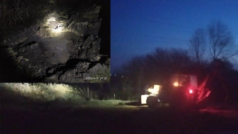 На Бущині пошкоджено газогін