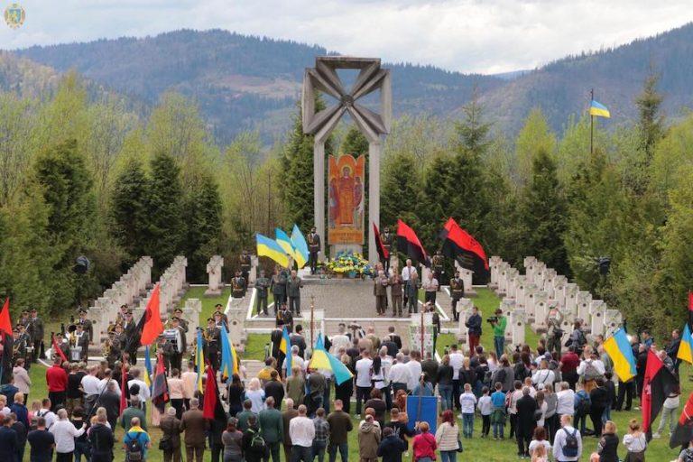 На Маківці вшанували воїнів січового стрілецтва полеглих у боротьбі за волю України