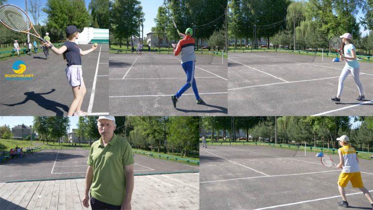 У Золочеві розпочався тенісний турнір до Дня міста (відео)