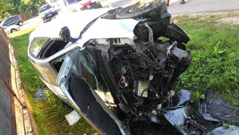 ДТП на Львівщині: травмовано неповнолітніх водія та пасажира